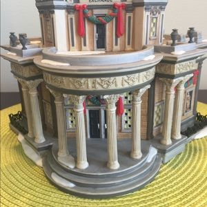 "Dept 56 ""Royal Stock Exchange"""